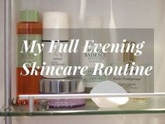 My Full Evening Skincare Routine Video | Bless My Bag