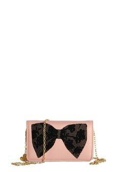 Betsey Johnson Always on the Bow Wallet. Before you dash out the door each day, reach for this Betsey Johnson wallet! #gold #prom #modcloth