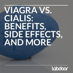 Viagra vs cialis side effects