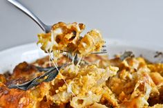 Roasted butternut baked penne... Weight Watchers Points Plus = 8 (makes 4 servings) using light butter and fat free milk