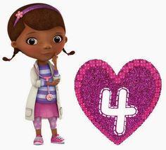 Alfabeto de la Doctora Juguetes.   Oh my Alfabetos!