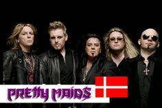 Pretty Maids - A contribuição dinamarquesa ao Metal Metallica, Musica Heavy Metal, Acid Rock, Heavy Metal Bands, Maids, Pretty, Youtube, Hair Bands, Danish