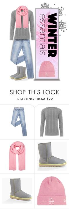 """""""Winter Essentials"""" by divine-designer ❤ liked on Polyvore featuring WearAll, Denis Colomb, UGG and Topshop"""