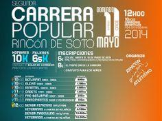 """#RincónDeSoto celebrará este próximo domingo la """"II #Carrera Popular Rincón de Soto"""""""