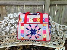 Amy Butler Weekender BagSew by A Quilting Sheep