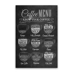 Quadro Café menu 20x30