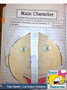Rockin Resources: Writing Mini Lesson #19- Developing Characters in a Narrative Essay