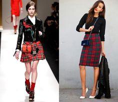 Tartan:  el punk es la tendencia del año, no te puede faltar una prenda de tema escocés