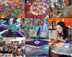 Mosaic Classes by Laurel True,  New Orleans
