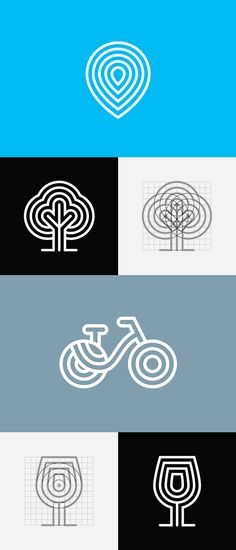 Erzsebet Square Identity by Hidden Characters, via Behance