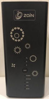 How to Unlock Zain Huawei B618s-22d Router 1  Insert an