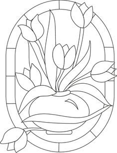 Would make a beautiful stained glass quilt. Stained Glass Patterns Free, Stained Glass Quilt, Stained Glass Flowers, Faux Stained Glass, Stained Glass Designs, Stained Glass Projects, Mosaic Patterns, Painting Patterns, Fabric Painting
