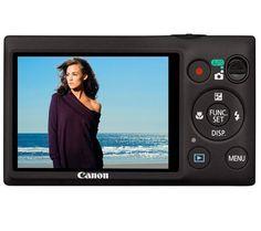 Canon Digital Ixus 220 HS - black