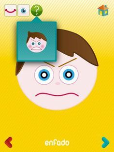 ¿Qué tal estás? App para el reconocimiento emocional. | Aulautista Speech Language Therapy, Speech And Language, Dual Language, Elementary Teacher, Critical Thinking, Android Apps, Ipad, Teaching, Feelings
