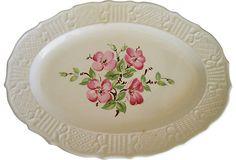 Pink Blossom Platter on OneKingsLane.com