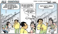 Harus Ke Dokter, Badan Lo Gendut Banget! - #Karikatur - http://www.galucu.com/pin/harus-ke-dokter-badan-lo-gendut-banget/