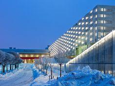 © Courtesy of Rosenbergs Architects Architects: Rosenbergs Arkitekter Location: Stockholm International Fairs, Älvsjö, Sweden Project Team: Alessandro Stockholm, Lighting Design, Sweden, Fair Grounds, Architecture, World, Travel, Image, Instagram