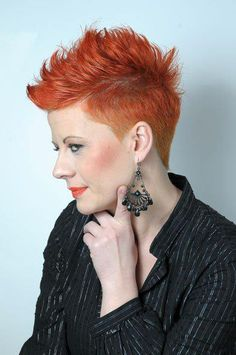 The Pixie Revolution: Hot or Not: The Mohawk & Fauxhawk on Women