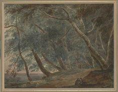 John Robert Cozens | The Galleria di Sopra, Lake Albano | Drawings Online | The Morgan Library & Museum Morgan Library, Over The River, Landscape Art, 18th Century, Museum, April Showers, Drawings, Watercolors, Artist