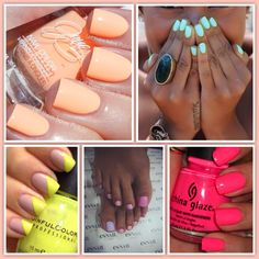 Summer Nails For more pics : https://www.facebook.com/pages/SG-Blog/268089930037968