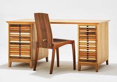 schreibtisch SIXtematic von sixay furniture - designermöbel aus vollholz in höchstqualität