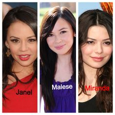 3 actresses, look alike