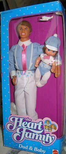 Bilderesultat for barbie family 80s