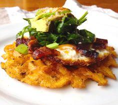 Waffled Polenta-Salt & Smoke.