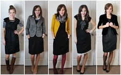 5 Different wants to wear the basic black dress