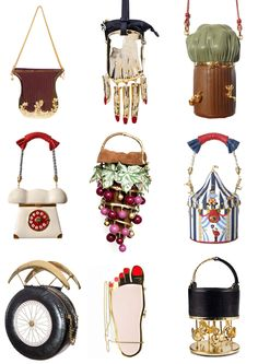 Ines Figaredo´s Bags. Bags for Halloween!