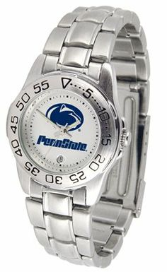 Pennsylvania State University Nittany Lions Sport Steel Band - Ladies - Women's College Watches by Sports Memorabilia. $50.76. Makes a Great Gift!. Pennsylvania State University Nittany Lions Sport Steel Band - Ladies