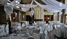 globos trasparentes para cumpleaños de 15 en el salón del Carrasco Polo