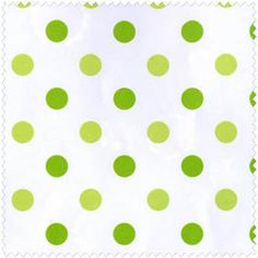 Sweet Things - Lime Dots. Fabric by Holly Holderman for Lakehouse Dry Goods. OakHillFabrics on Etsy
