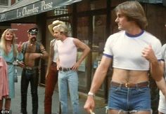 Funny - He's got the disco bug! Bruce Jenner dons this outfit after his straight-laced lawyer character Ron succumbs to the disco craze - 1980's movies