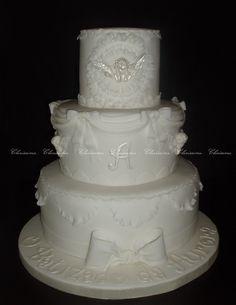 Christening cake / Bolo de batizado