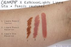 ColourPop X KathleenLights Where The Night Is, photos & swatches