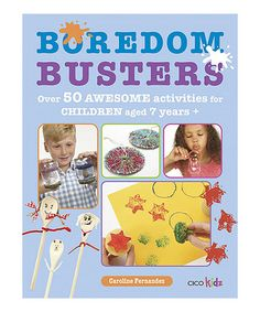 Look what I found on #zulily! Boredom Busters Paperback #zulilyfinds