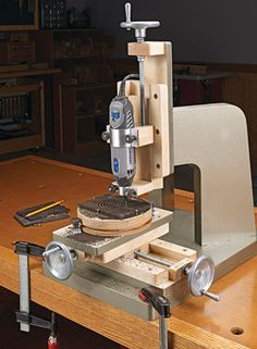 Rotary Milling Machine | Woodsmith Plans