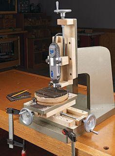 Rotary Milling Machine | Woodsmith Plans