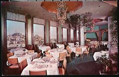 Have dinner and enjoy the amazing views at the Empress of China restaurant