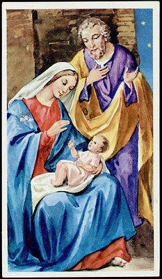 """santino-holy card""""""""ediz. EB-n.2/023 NATIVITA'"""