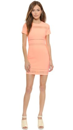 Elizabeth and James Ari Dress (Coral/Orange Summer Dress)