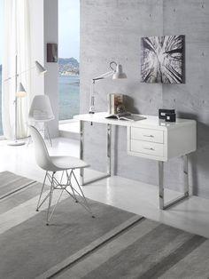 ¿Este fin de semana os toca trabajar en casa? Seguro que con nuestro escritorio DK 902 os resultará más cómodo.#DugarHome #decoración #hogar #estilo #nórdico