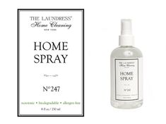 """Sinnlicher Raumspray """"The Laundress No. 247"""" in 60 & 230 ml Home Spray, New York Homes, Whiskey Bottle, Biodegradable Products, Decor, Dusters, Glass Cleaners, Frugal, Beautiful Homes"""