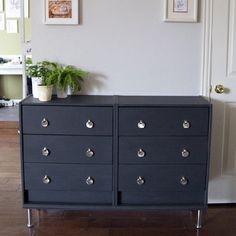 Want an affordable but stunning 6 drawer chest dresser? This project will blow your mind!