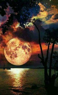 Super luna!!♡