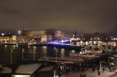 Stockholm, Sweden. New Years Eve.