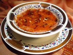 Kızılcıklı Tarhana Çorbası