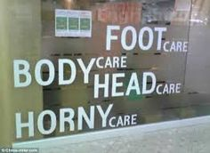 Image result for hilarious chinese signs