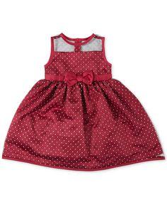 Penelope Mack Little Girls' Dot-Print Dress - Dresses - Kids & Baby - Macy's